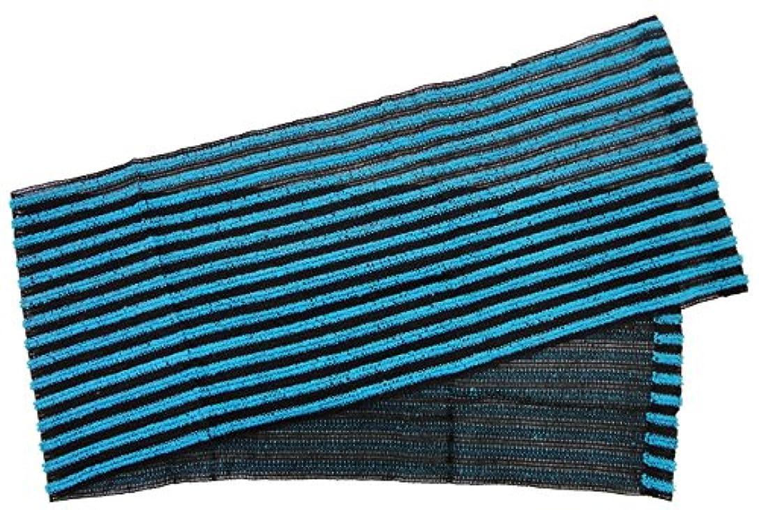 小久保 『たっぷりの泡立ちサッパリとした洗い心地』 働くオトコのボディタオル 20×110cm 3290
