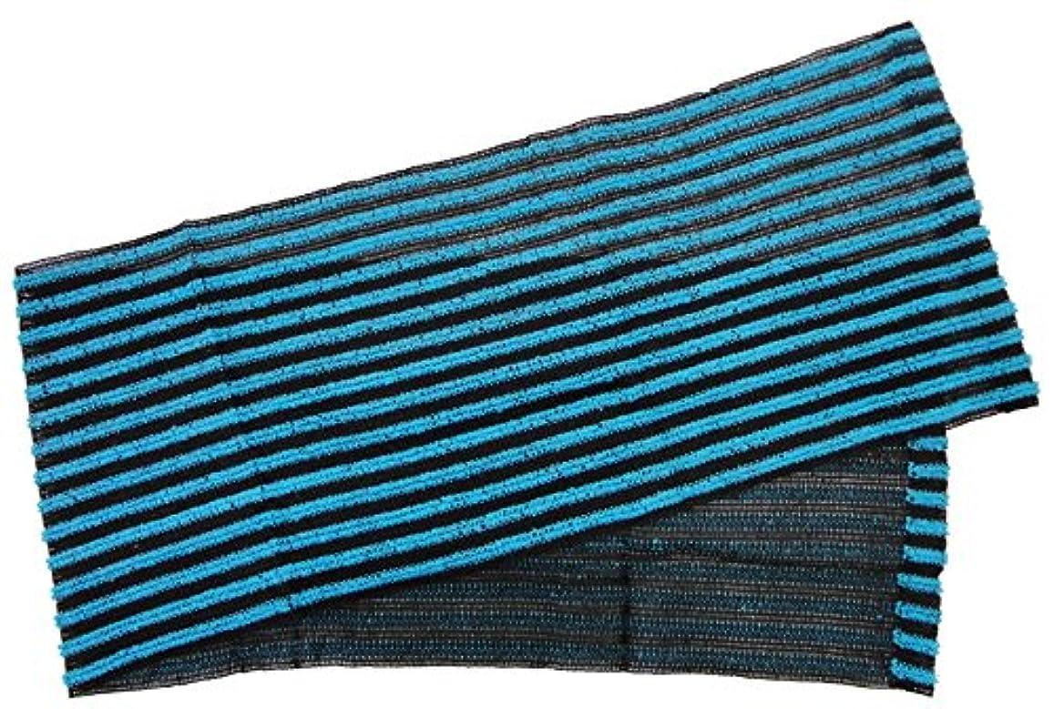 解く仕方宣言する小久保 『たっぷりの泡立ちサッパリとした洗い心地』 働くオトコのボディタオル 20×110cm 3290