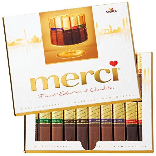 ドイツ 土産 メルシー ゴールドチョコレート 1箱 (海外旅行 ドイツ お土産)