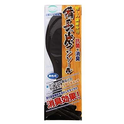 [イズフィット]is-fit 備長炭インソール 女性用(22~25cm)