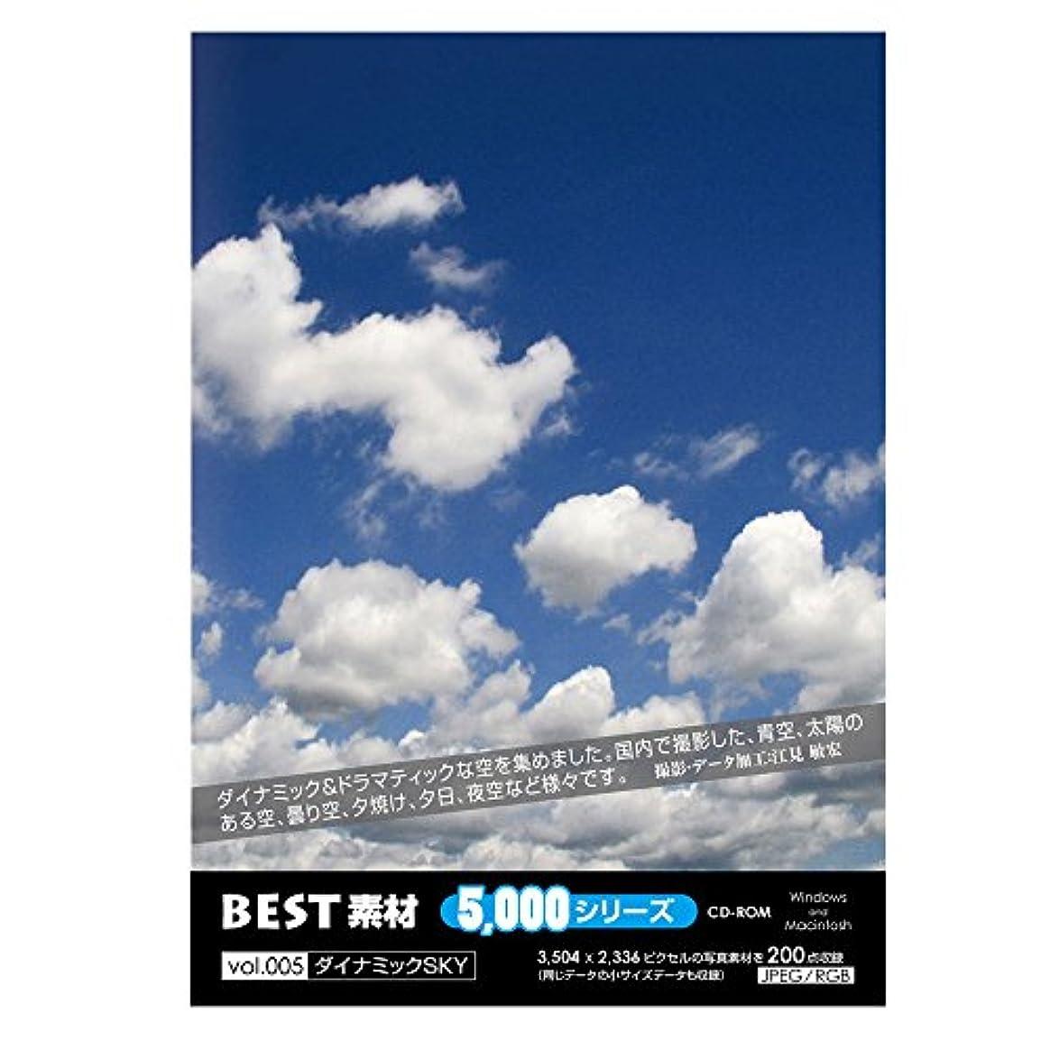 くるみ軽減する事前BEST素材5000シリーズ vol.005 ダイナミックSKY