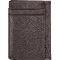 D DOLITY New Pocket Wallet Thin PU Leather Multi Card Case
