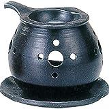 茶香炉 : 常滑焼 間宮 茶香炉・エ37-03