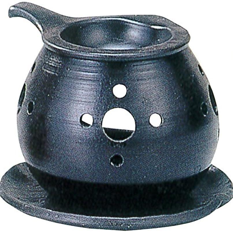 曇ったおじいちゃん精査する茶香炉 : 常滑焼 間宮 茶香炉? ル35-03
