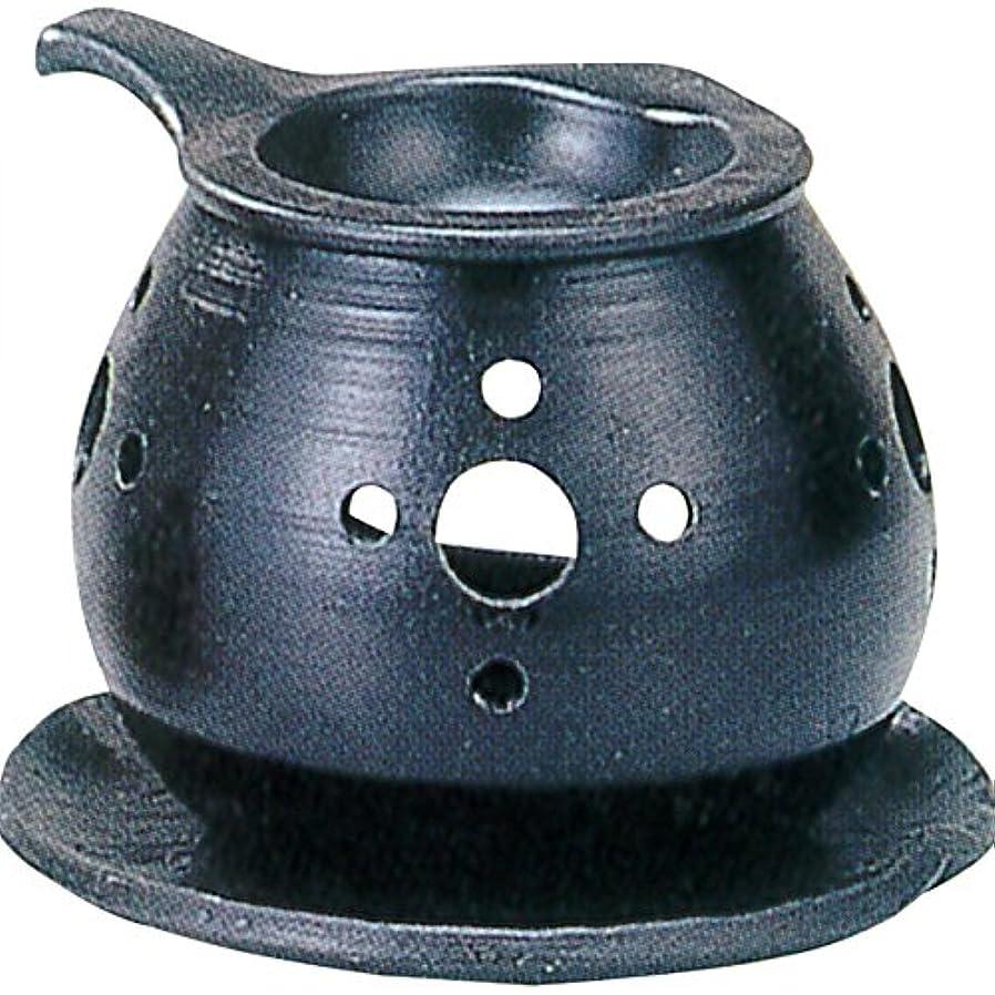 薄いですファブリックリッチ茶香炉 : 常滑焼 間宮 茶香炉? ル35-03