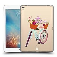 Head Case Designs 自転車 ホイール&フローラル iPad Pro 9.7 (2016) 専用ハードバックケース