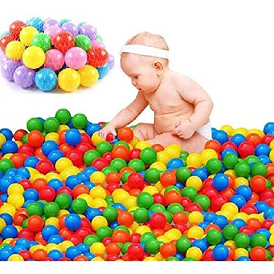 膨張する菊ダイバーマリンボール子供のおもちゃ、色とりどりのボール100 PCSプラスチックオーシャンプールキッズファニーギフト用キッズベビー