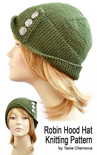 Robin Hood Hat Pattern Womens Hat Knitting Pattern Robin Hood Beanie ... 18a9927de24
