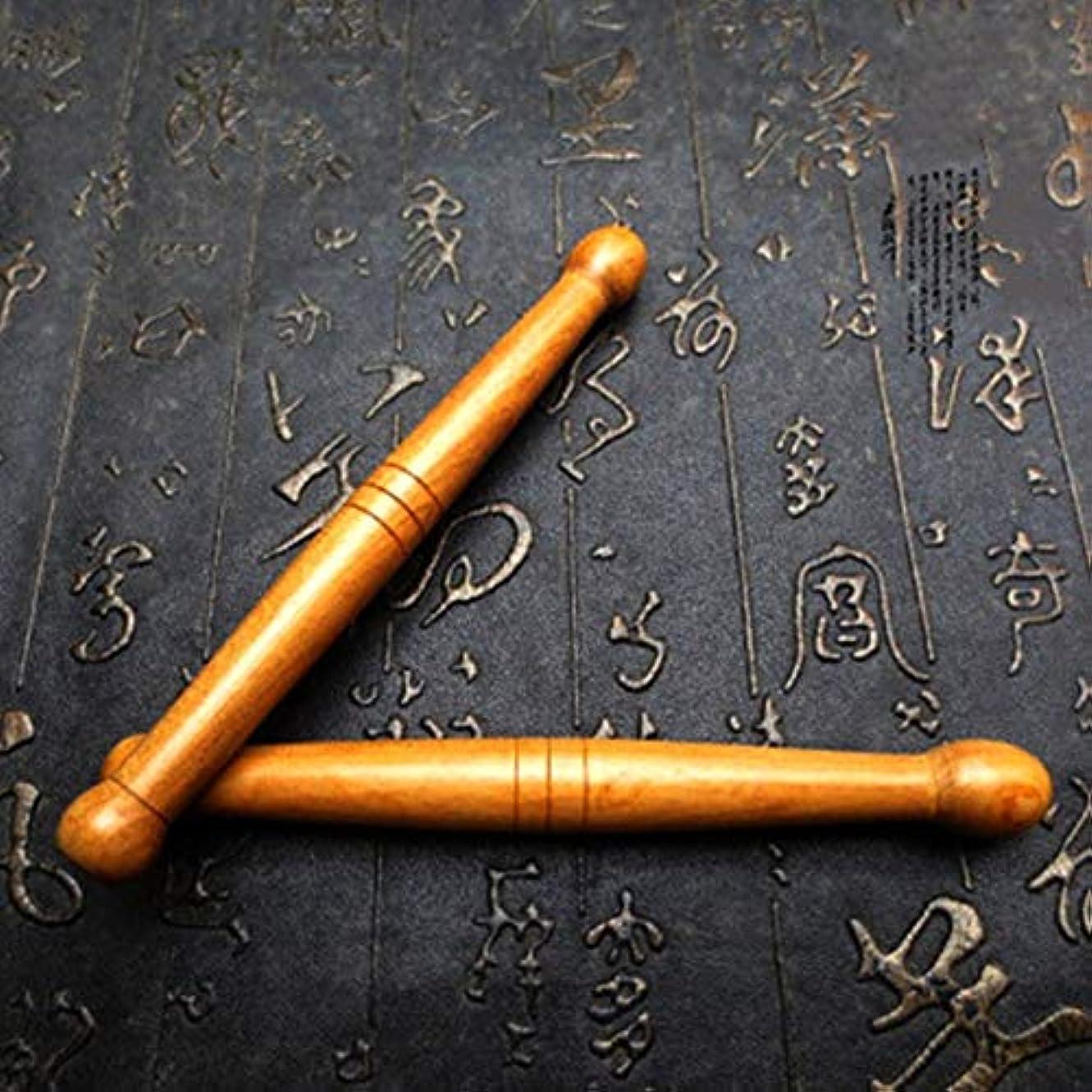 海賊発生器船員TerGOOSE マッサージ棒 足裏マッサージ棒 グリグリ棒 特製マッサージ棒 ぐり押し棒 メリディアンペン ポイントスティック マッサージャー 本格プロ仕様 木製 マッサージ 快適な 健康 便利 多機能