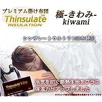 シンサレートUltra《150》 掛布団【日本製】 『無地・極-kiwami-』ダブル (アイボリー)