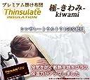 シンサレートUltra《150》 掛布団【日本製】 『無地 極-kiwami-』ダブル (アイボリー)