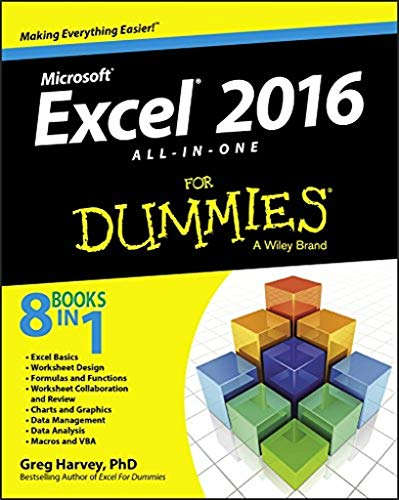 Download Excel 2016 All-in-One For Dummies 111907715X