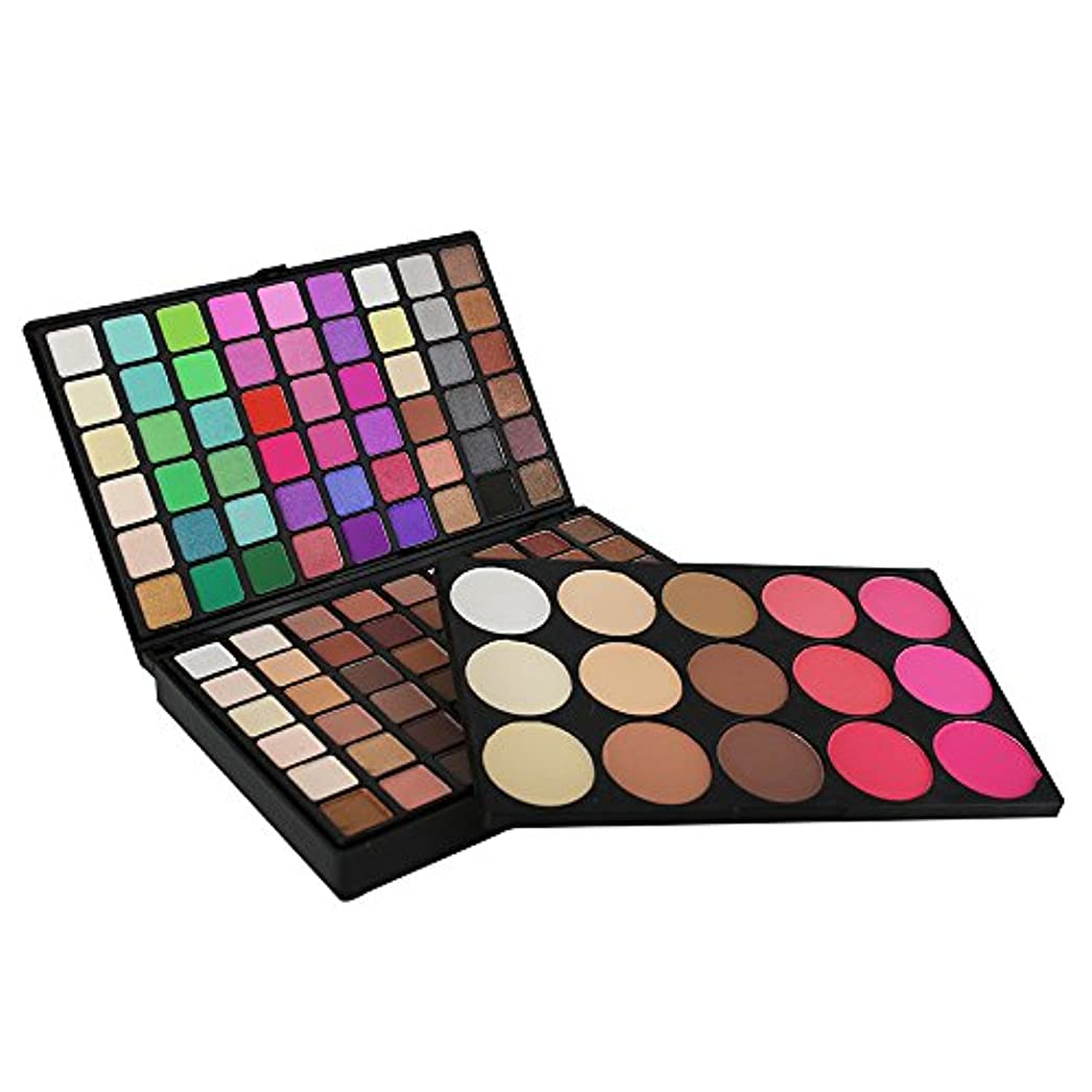 考案する変更コールド123色化粧品マットアイシャドークリームアイシャドーメイクアップパレットシマーセット
