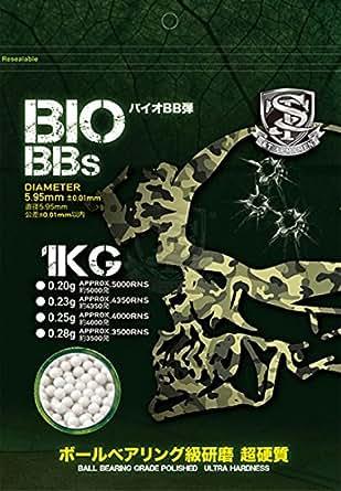 S&T PRECISION BBs Bio弾 0.20g 5000発 STBBB020KG