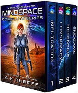 Mindspace - Complete Series (1-4) Boxset: A Cadicle Space Opera Adventure by [DuBoff, A.K.]