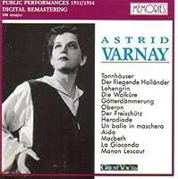 Astrid Varnay: Great Voices (Public Performances 1951 / 1954) (Memories)