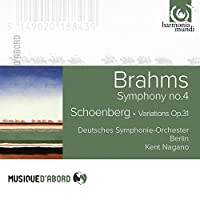 Brahms: Symphony No.4; Schoenberg: Variations Op.31 by Deutsches Symphonie-Orchester Berlin