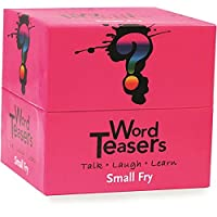 Word Teasers Small Fry - Interactive Vocabulary Trivia Game Cards Featuring Words for Children [並行輸入品]