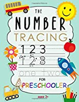 The Number Tracing Book for Preschoolers: Kids Ages 3-5: Trace Numbers Practice Workbook for Pre K, Kindergarten | Learning the easy Maths