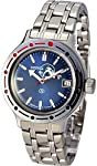 Vostok Amphibian 420059/2416 Military Russian Diver Watch Scuba Dude Blue
