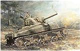 ドラゴン 1/72 第二次世界大戦 アメリカ軍 M4A1 シャーマン プラモデル DR7568