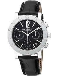 [ブルガリ]BVLGARI 腕時計 BB38BSLDCH ブルガリブルガリ クロノグラフ ブラック メンズ [並行輸入品]