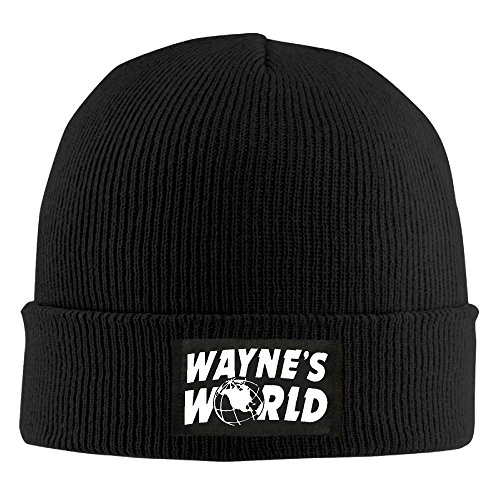 冬Wayne 's Worldニット帽 One Size ブ...