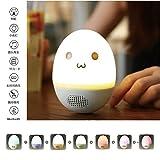 Bluetooth スピーカー ワイヤレススピーカー ベッドサイドランプ カラーライト 七段光度調節可能 タッチセンサー LED卓上ランプ 重低音 通話可能 ふとうおう プレゼント