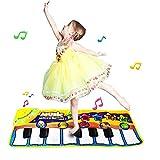 Coolplay ピアノ おもちゃ 音楽マット 折り畳みピアノ キーボード楽器 動物パーティー ボリューム調節 ライト 多機能