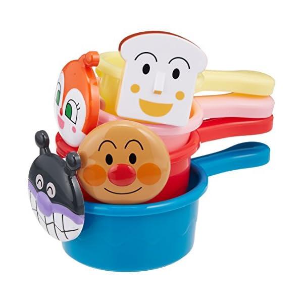 アンパンマン おふろでかさねてシャワーカップの紹介画像2