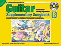 Guitar Supplementary Songbook: Method for Young Beginners, Progressive/B [With CD (Audio)]