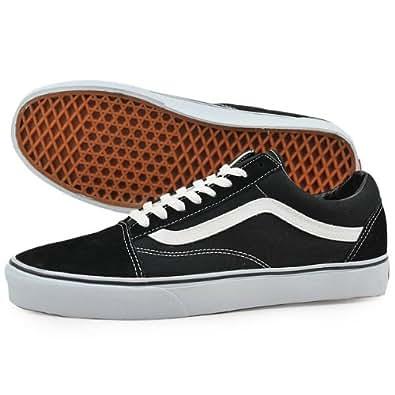 バンズ(VANS) オールドスクール(OLD SKOOL ) スケートシューズ BLACK/WHITE 23cm