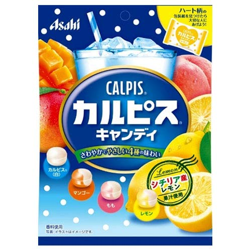 アサヒグループ食品 カルピスキャンディ 100g×12(6×2)袋入×(2ケース)