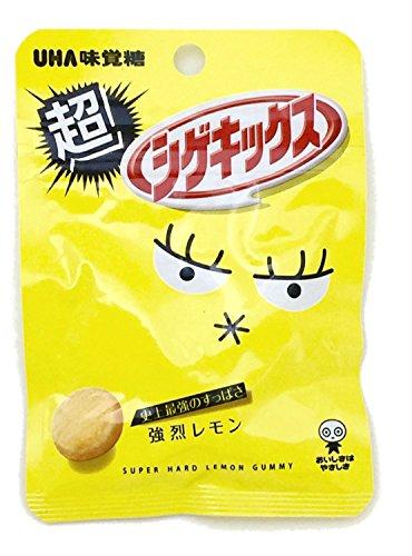 味覚糖   超シゲキックス強烈レモン味  20G×10袋