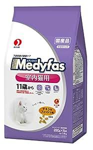 メディファス 室内猫用 11歳から チキン&フィッシュ味 1.4kg
