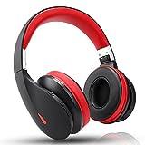 【技適認証済】AUSDOM AH2 密閉型 Bluetooth ヘッドホン 高音質 重低音 有線無線両用 ワイヤレス ヘッドフォン オーバーイヤー ヘッドセット 3.5mmオーディオケーブル付き 折り畳み式 マイク内蔵 通話可能