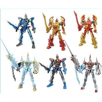 鋼鉄の戦騎 デュエルアームズ DUEL ARMS ロボット ビースト 武器 食玩 カバヤ (全6種フルコンプセット)