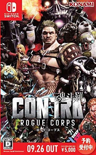 Switch版 CONTRA ROGUE CORPS (魂斗羅 ローグ コープス)【Amazon.co.jp限定】アイテム未定