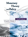 Monetary Theory and Policy (The MIT Press) 画像