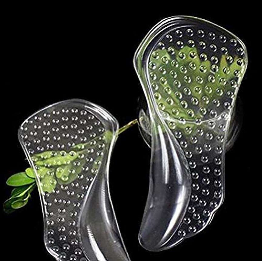 細菌に慣れ演じるOrient Direct Gel Heel Cups 1組の便利なGel Heelパッド防止緩和ヒール拍車衝撃吸収サポート