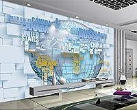 Minyose 壁紙 ヨーロッパ風の手描き漫画Hd壁画動物熱気球子供部屋の背景壁の装飾3Dの壁紙