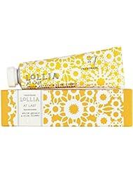 ロリア(LoLLIA) ミニハンドクリーム AtLast 9.3g (ライスフラワー、マグノリアとミモザの柔らかな花々の香り)
