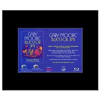 GARY MOORE - Blues For Jimi Mini Poster - 21x13.5cm