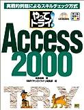 やってトライ!Access2000―実戦的例題によるスキルチェック方式