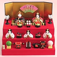 薬師窯 雛人形 錦彩華 みやび段飾り雛 2455