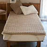 Fab the Home パッドシーツ クミン シングル(100x200cm) エアリーパイル FH523940-870