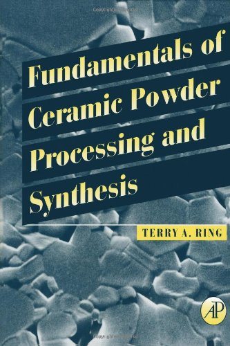 Download Fundamentals of Ceramic Powder Processing and Synthesis 0125889305