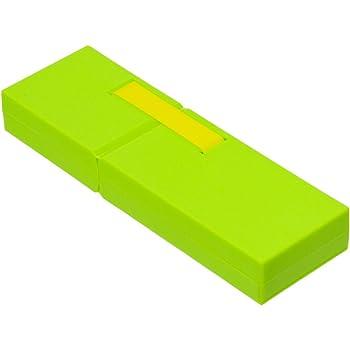 ナカバヤシ ディスプレイペンケース L 筆箱 グリーン PCN-DP02GN