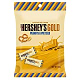ハーシー ゴールド ピーナッツ&プレッツェル 10P ペグパック(チョコレート)103g×12個【沖縄は一部送料負担あり】