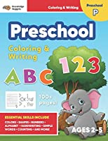 Jumbo ABC's & 123 Preschool Coloring Workbook: Ages 2 and up, Colors, Shapes, Numbers, Letters, Learn to Write the Alphabet (Essential Activity Book for Boys, Girls, Teachers, Kindergarden, Toddlers)